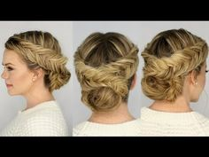 Double Dutch Fishtail Braid Updo - MissySue.  She always has the most beautiful giant braids!