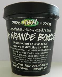 La Grande Boucle : shampooing pour cheveux bouclés.  Produit dérivé ou simple jeu de mots ?