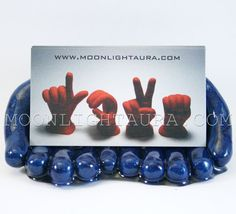Business Card Holder Hands Made to order You by MoonlightAura, $18.00