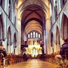 Visit St Patrick's Cathedral on a Sunday morning #dublin #travel