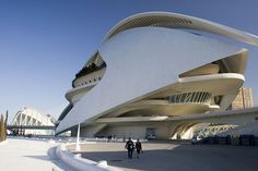 City of Arts and Sciences by krowman, via Flickr