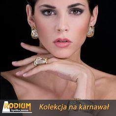 Karnawałowa kolekcja RODIUM. Złota Biżuteria włoskiej firmy z rejonu AREZZO zaprezentowana na targach.