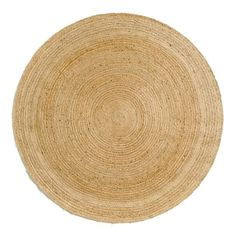 Hempy Round Jute Rug, Ø250cm AM.PM. : price, reviews and rating, delivery. Hempy round rug. Authentic and environmentally friendly by nature, this round rug is made from 100% jute, a natural, durable and highly resistant fibre.Providing natural thermal and acoustic insulation, rugs can transform a room, making it nice and cosy and creating a sense of well-being and comfort. Decoration that adds style and ambiance.Size: Diameter 250cmHome delivery:Your rug will be delivered to your do...