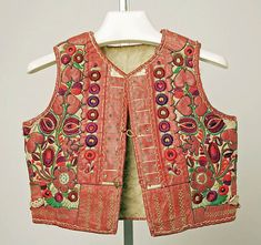 Hungarian Embroidery Vest Date: late century Culture: Hungarian Medium: leather, wool - Folk Costume, Costumes, Beautiful Outfits, Cool Outfits, Amarillis, Folk Clothing, Hungarian Embroidery, Textiles, Traditional Dresses