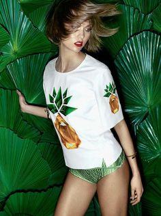 Karlie Kloss for Vogue Brazil November 2013