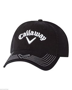 e8dc7e2d Callaway Golf Mens Adjustable Pro Stitch Cap Hat Black * Read more at the  image link. Note:It is Affiliate Link to Amazon.
