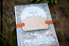 Illustrated Storybook Wedding Invitations by Shipwright & Co. / Oh So Beautiful Paper