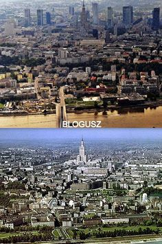 Warszawa Poland 1963 - 2014. Spot the difference!