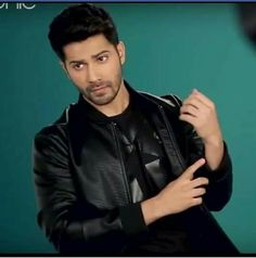 Varun Dhawan Photos, Love Husband Quotes, My Crush, Love Of My Life, Bollywood, Handsome, Pie, Leather Jacket, Celebs