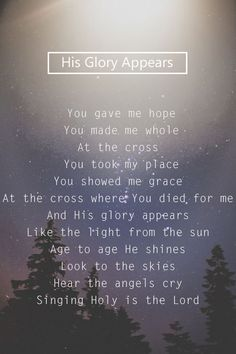 Hillsong-His Glory Appears
