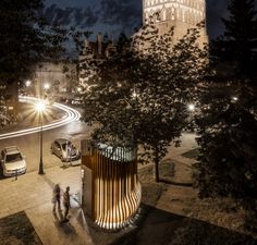The Architects favourite...public toilets!  Well done Schleifer, Milczanowski Architekci, it's beautiful!