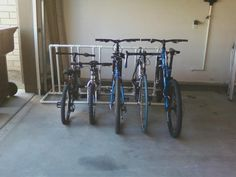 ideas for home made bike rack - Google Search