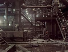 'Mossless' Magazine's Mammoth Third Issue abandoned factory Abandoned Buildings, Abandoned Places, Abandoned Factory, Industrial Architecture, Old Factory, Ex Machina, Industrial Photography, Environment Concept Art, Haunted Places
