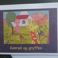 """So exited!This is the current layout for my children's book """"Konrad og gryffen"""". In the mail for a Danish publishing house :-) Day 90 in 365 days of art via Love Art, Danish, Childrens Books, Layout, Instagram Posts, Campaign, House, Content, Medium"""