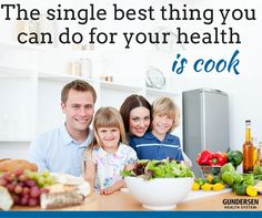 The single best thing you can do  for your health is cook at home. Read on to see all the reasons why.