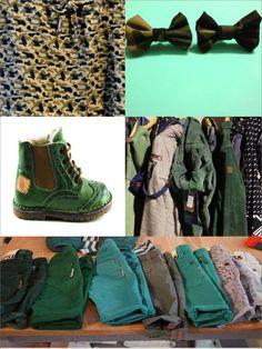 Kleine fabriek green shades