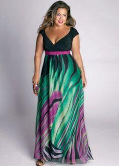 Robe de soiree pour femme ronde