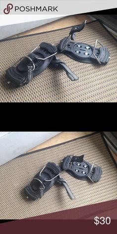 Ski boot snowboard Bindings Snowboard Bindings for ski boots. In great condition. Everything included Other
