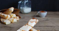 Puff pastry cookies apricot glazed - Hojaldre glaseado con mermelada de albaricoque