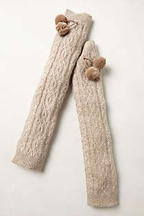 Anthropologie - Cabled Leg Warmers