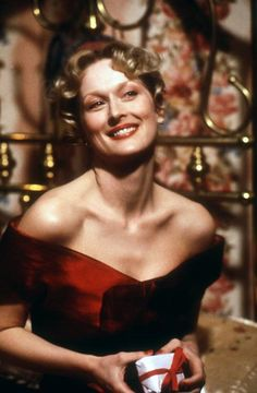 Meryl Streep in 'Sophie's Choice' (1982). I read the book and watched the movie...Cried cried cried me a river and that was way Before I had children!!