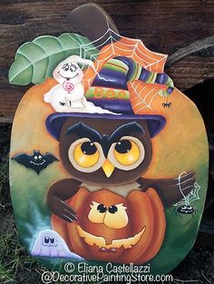 Decorative Painting Patterns   The Decorative Painting Store: Trick or Treat Pattern, Newly Added ...
