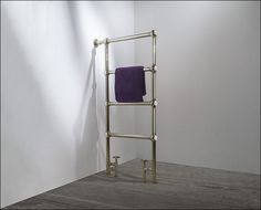Henry Nickel Freestanding Towel Rail | Livinghouse