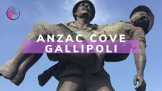 Lynn and Andrew from Einhorn Travel Accessories make a pilgrimage trip to ANZAC Cove in Gallipol.