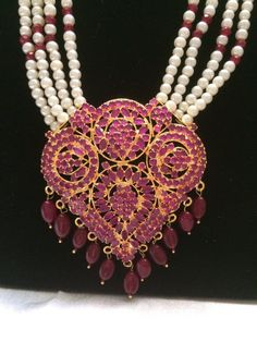Hyderabadi Raani Haar Indian Wedding Jewelry by MahrukhD on Etsy