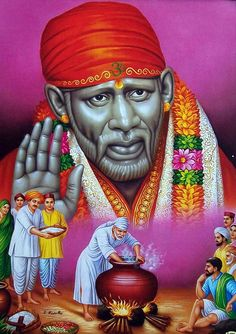 The Simple Life of Shirdi Sai Baba - Hindu Posters (Reprint on Paper - Unframed) Sai Baba Pictures, Sai Baba Photos, God Pictures, Photo Images, Hd Images, Indian Gods, Indian Art, Shirdi Sai Baba Wallpapers, Sai Baba Hd Wallpaper