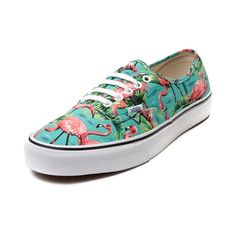 Shop for Vans Authentic Van Doren Flamingo Skate Shoe, Turquoise, at Journeys Shoes. Take a tropical trip with the new Authentic Van Doren Flamingo Skate Shoe from Vans! The Authentic Flamingo Skate Sneaker rocks a tropical canvas upper, lace front closure for a secure fit, lightly padded collar for comfort and support, and rubber outsole with signature waffle tread for grip and traction. Available for shipment in March; Pre-order yours today!