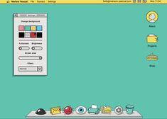 Interactive Customizable Desktop - UI Animation and Microinteractions - Awwwards Self Branding, Instagram Frame, Memphis Design, Aesthetic Gif, Graphic Design Posters, Pose, Web Design Inspiration, Editorial Design, Portfolio Design
