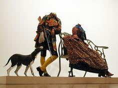 Yinka Shonibare. Mr and Mrs Andrews Without Their Heads, 1998.