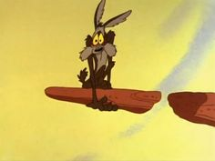 Wile E Coyote...out on a broken ledge :) Help