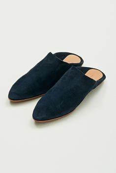 Nanushka Store - Navy slippers - @saphorshop
