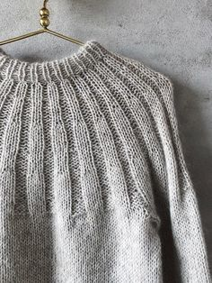 Sunday sweater by PetiteKnit, No 2 + silk mohair kit, Mohair Yarn, Mohair Sweater, Knit Cardigan, Merino Wool, Hand Crochet, Hand Knitting, Knitting Patterns, Knit Crochet, Raglan Pullover