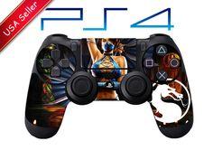 Mortal Kombat X Kitana Playstation 4 ps4 Controller Skin