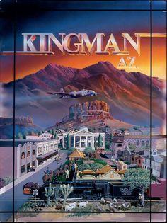 Kingman, Arizona and Route 66