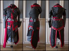 Progress vom fertigen Shao Jun Cosplay