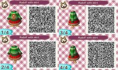 #animalcrossing #acnl #newleaf #qrcode #fall #winter #automne #hiver #christmas…