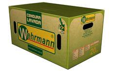 Arte para caixa de cenoura agrícola Whermann