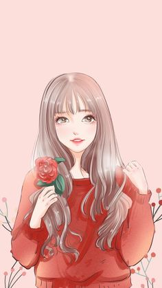 Pin Image by gatoloco Art Pretty Anime Girl, Beautiful Anime Girl, Kawaii Anime Girl, Anime Art Girl, Manga Girl, Girly Drawings, Anime Girl Drawings, Cartoon Drawings, Girl Cartoon