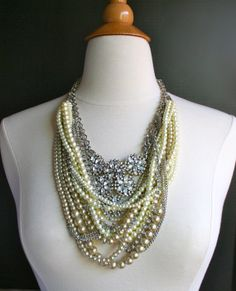 Tangled Pearl Necklace Tom Binns Inspired by Lavenderfields62, $98.00