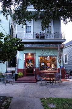 Lola's Spanish Restaurant on Esplanade Ave. in New Orleans