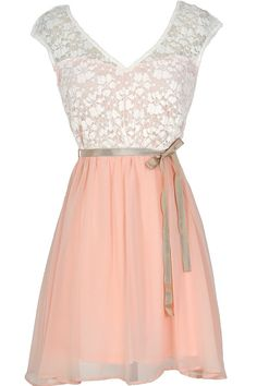Sonoma Sunset Lace Dress in Cream/Pink. If it was a little longer, I would run out immediately and get it.