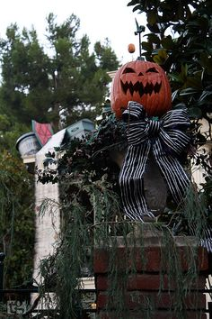 The Nightmare Before Christmas at the Haunted Mansion.