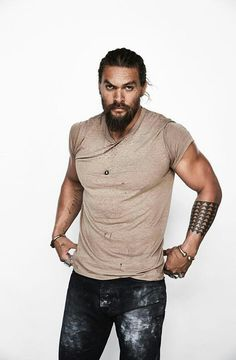Look at him ❤ Jason Momoa is so hot.