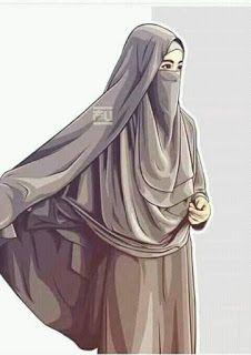 I love hijab . Hijabi Girl, Girl Hijab, Vector Character, Portrait Vector, Muslim Images, Film Anime, Hijab Drawing, Islamic Cartoon, Hijab Cartoon