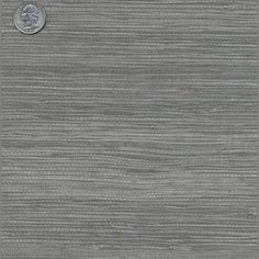 Grey Grass Cloth Wallpaper