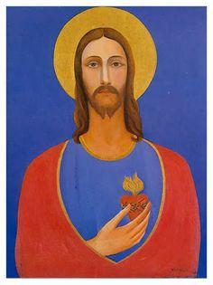 CORAÇÃO DE JESUS (1926), Tarsila do Amaral